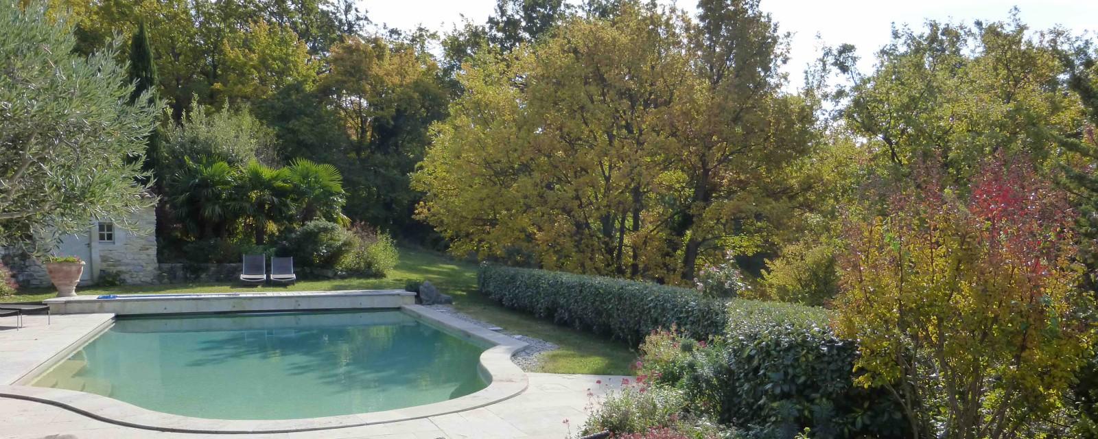Domaine du Roc piscine