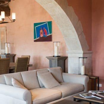Salon maison hôtes Drôme