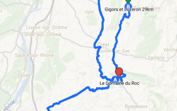 Carte Interactive des Golfs dans la Drôme