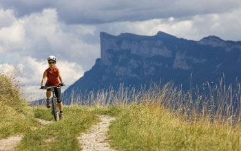 Découvrir la Drôme en vélo