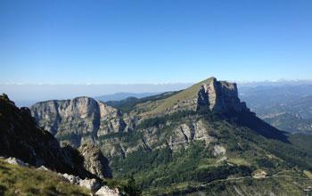 Randonnée à Saou en Drome Provençale