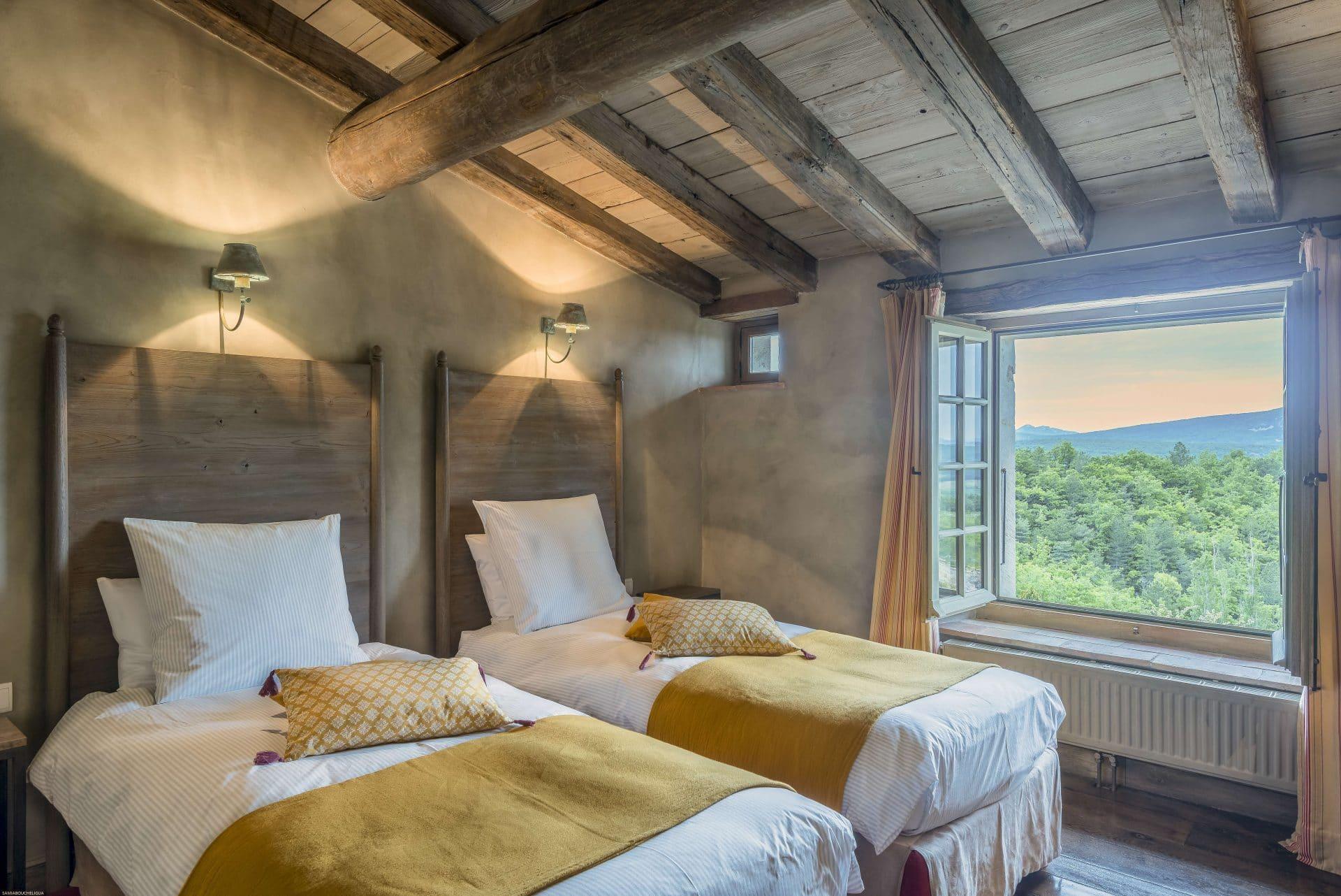 chambre hote drome Domaine du Roc Petite Suite