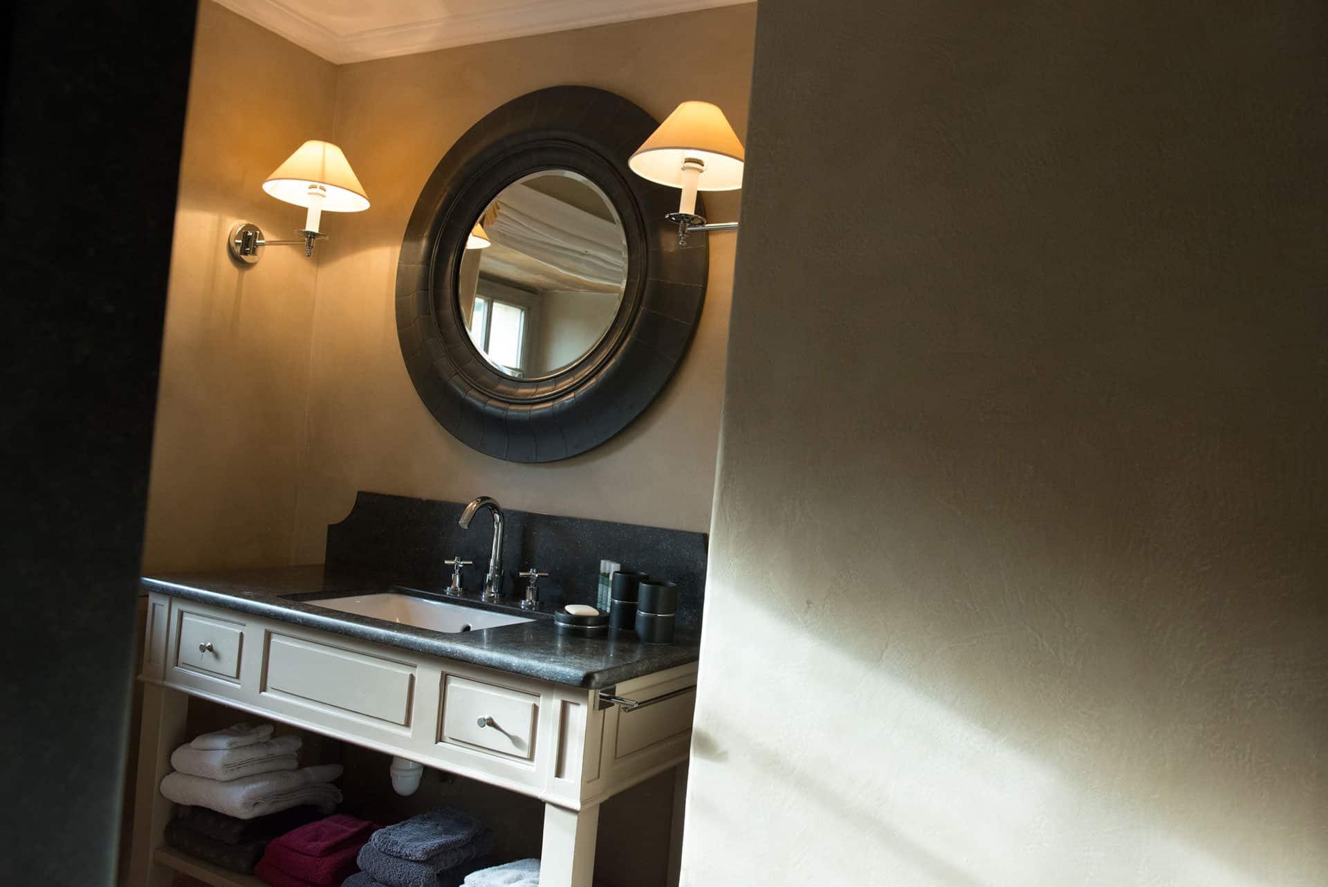 salle de bain bnb