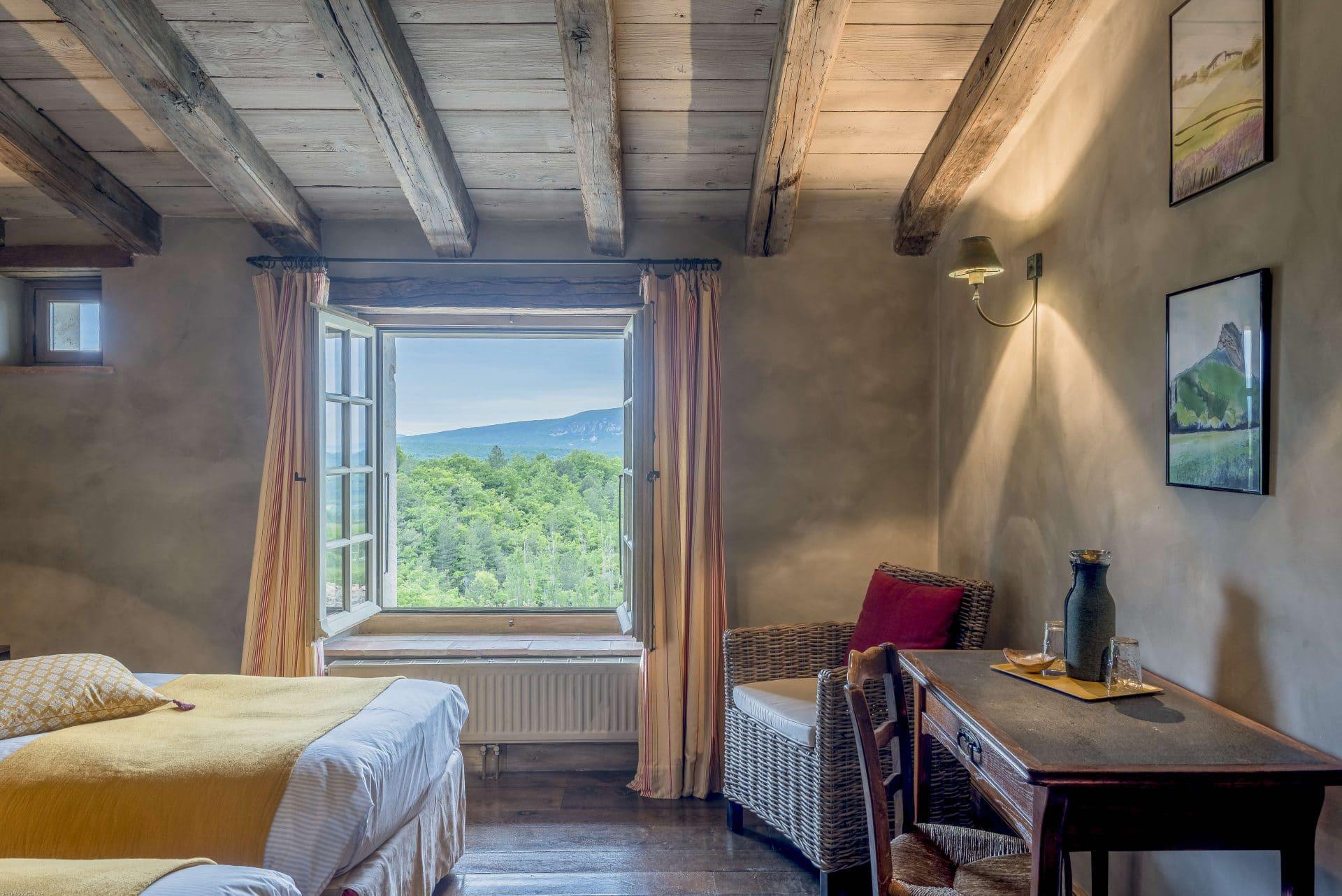 maison d'hôte drôme bnb Domaine du Roc Petite Suite