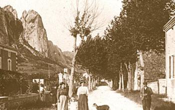 Le village de Saou