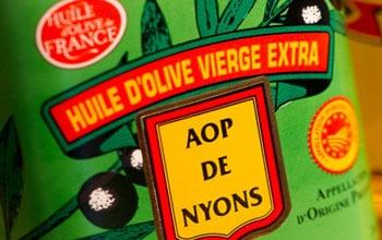 huile d'olive de Nyons produits du terroir