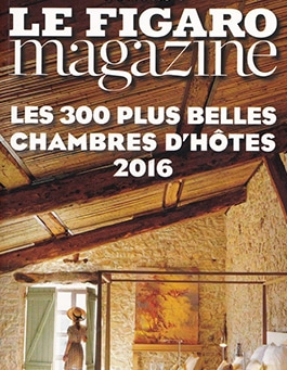 Figaro magazine chambres d'hôtes 2016
