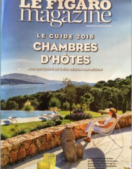 Figaro guide chambres hotes 2016