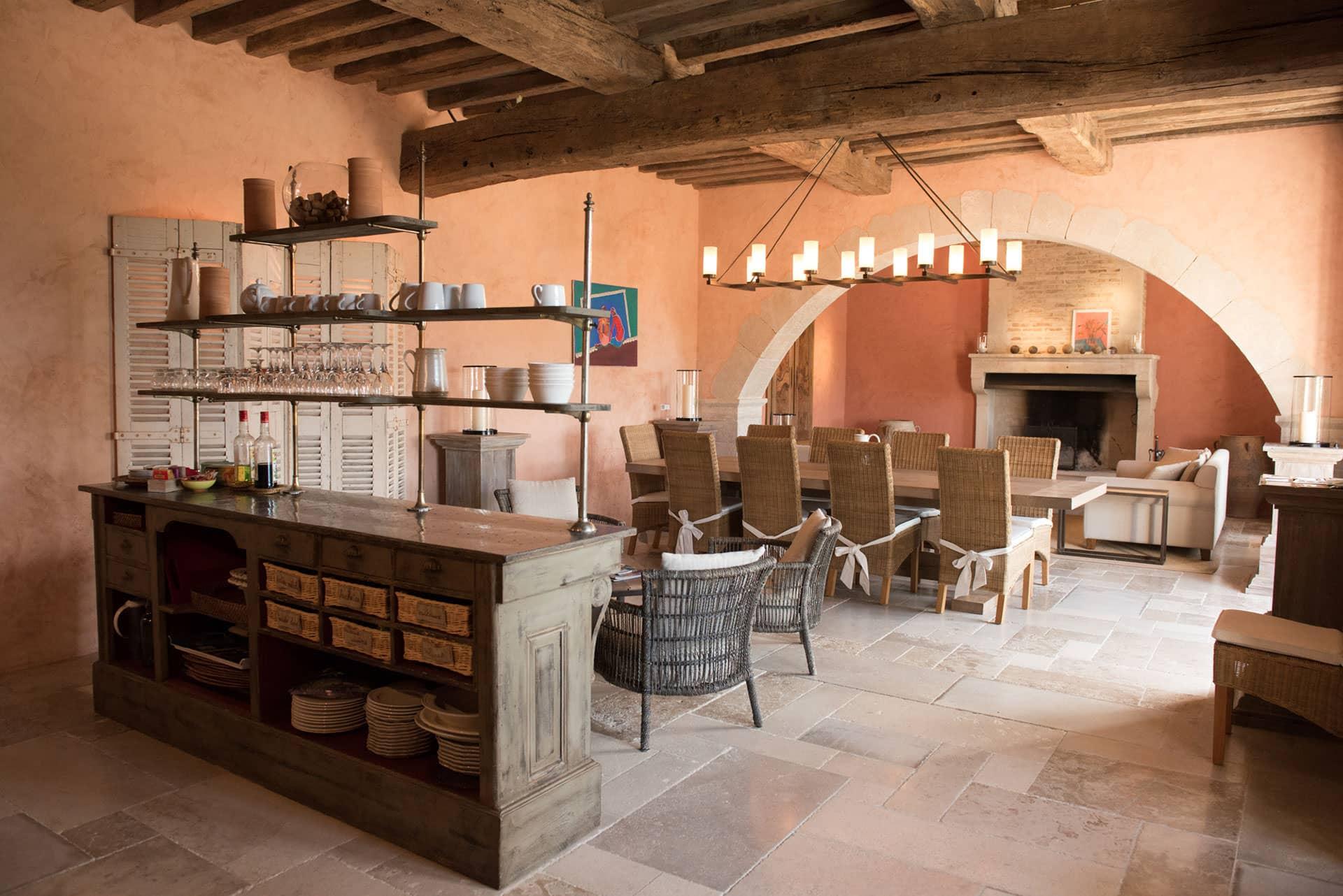 cuisine maison hotes provencale